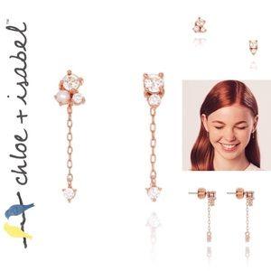 🆕 Petits Bijoux Pavé + Pearl Mismatched Earrings